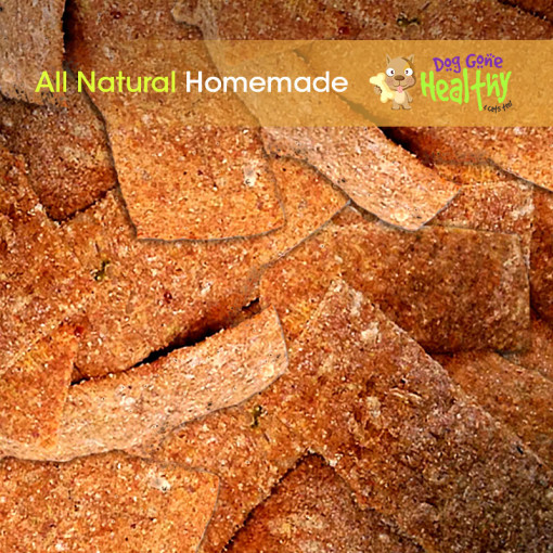Dog Gone Healthy - Large All Natural, Homemade Dog Biscuits