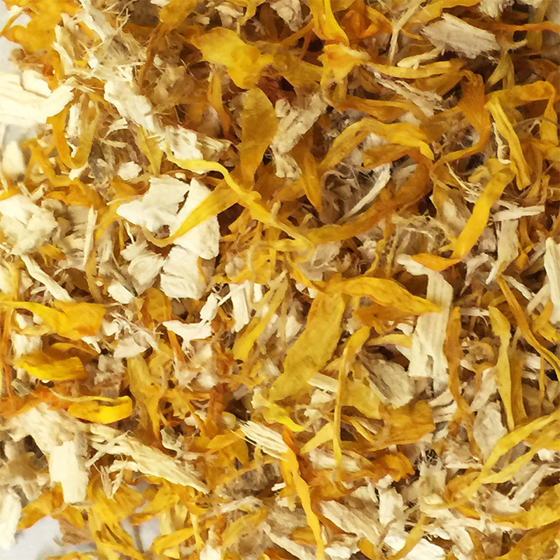 Calendula and Marshmallow Herbal Tea for Dogs