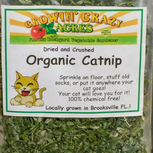 Growin' Crazy Acres - Organic Catnip